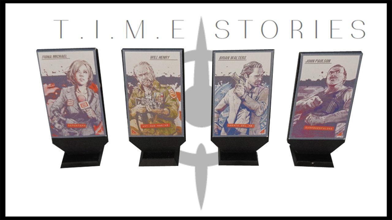 Peanas para personajes de Time Stories