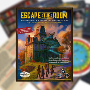Escape the Room: Misterio en la Mansión del Observatorio (ES)